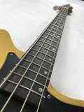 Mr.Drubbel Jazzmaster Bass Gold Top Relic